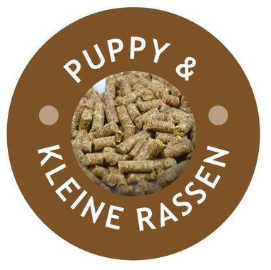 Kip/Rund, geperste (KLEINE/PUPPY) brok zak van 1 kg