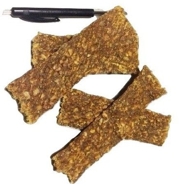 Kalkoen vleesstrips gedroogd, 150 gram
