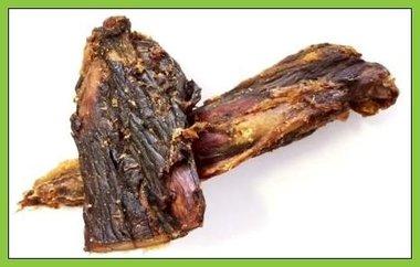 Paardenknars snack gedroogd, 400 gram