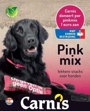 Carnis/KWF Pinkmix, diverse snacks ca 250 gr.